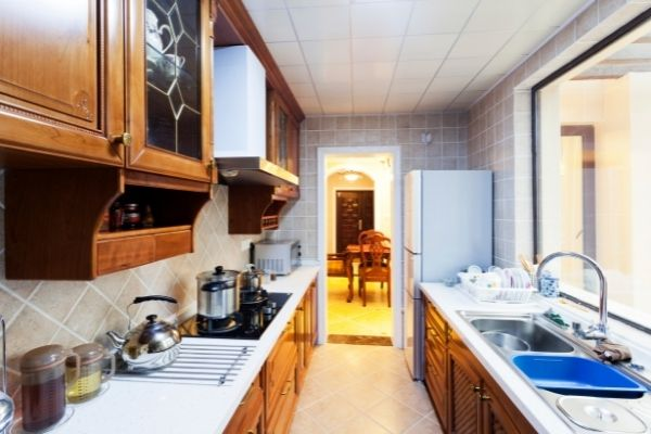 simple home kitchen